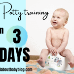 How to potty train your toddler in three days